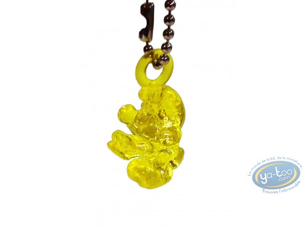 Figurine plastique, Schtroumpfs (Les) : Schtroumpf translucide jaune