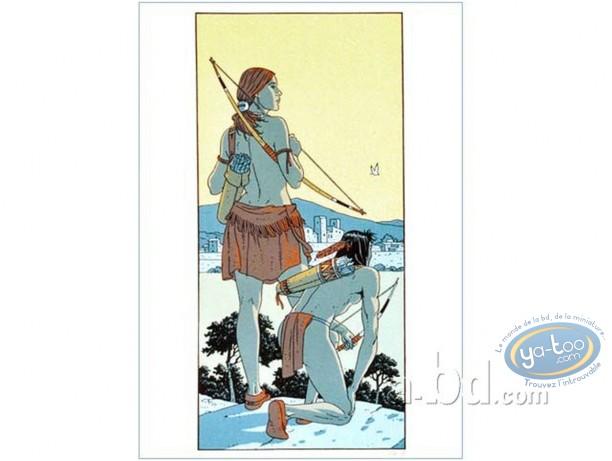 Affiche Sérigraphie, Plume aux Vents : Ariane à Antibes