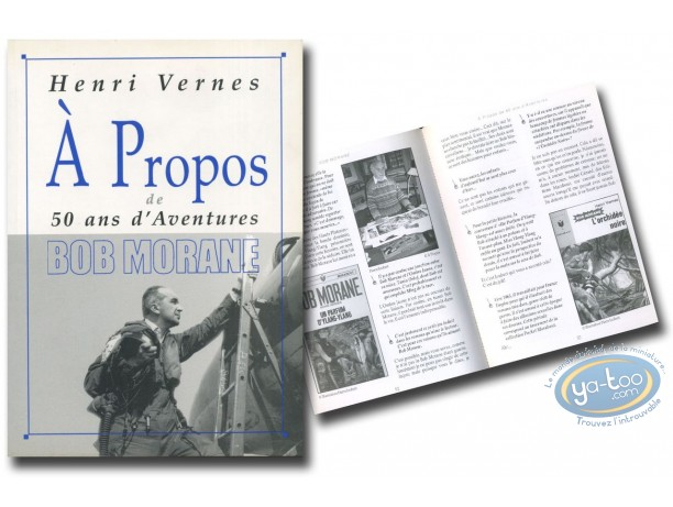 Monographie, Bob Morane : A propos de Bob Morane