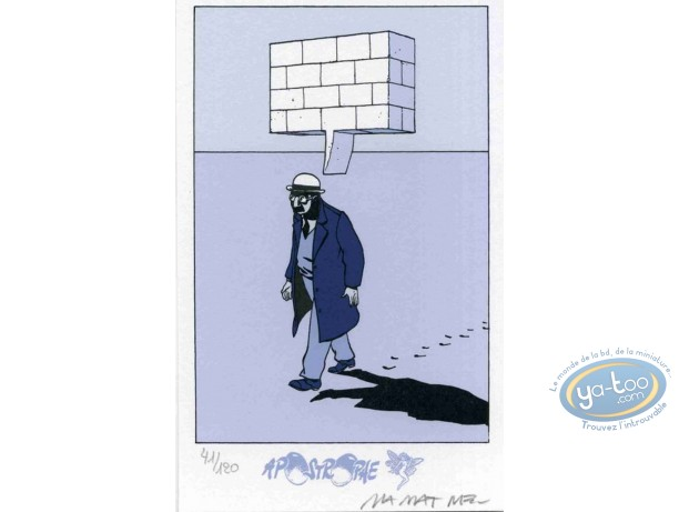 Ex-libris Sérigraphie, Le dessin
