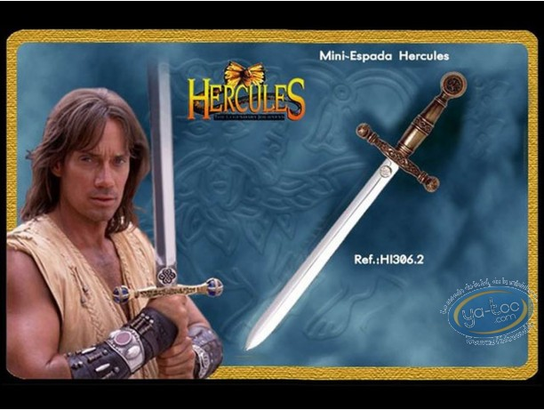 Réplique cinéma, Hercules : Mini épée version bronze