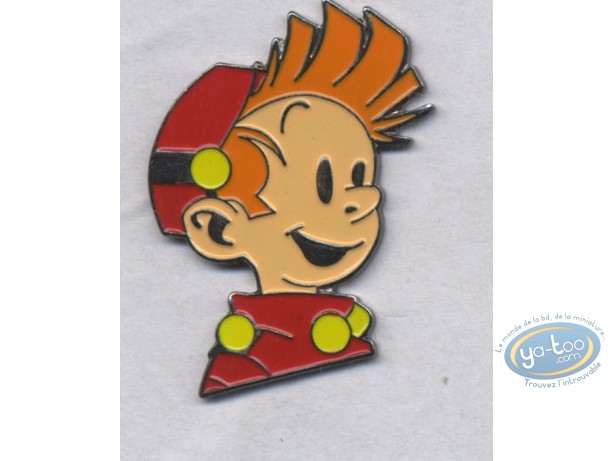Pin's, Spirou et Fantasio : Spirou