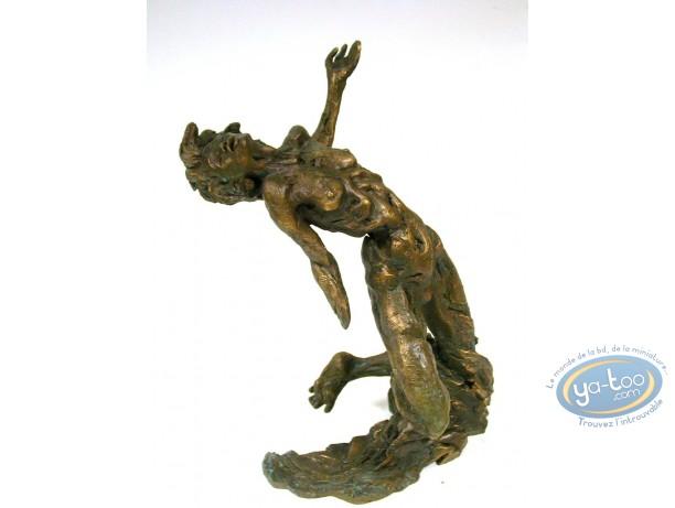 Statuette bronze, Zoo : L'abandon