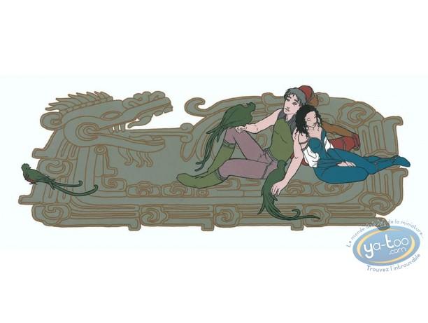 Affiche Sérigraphie, Quétzal