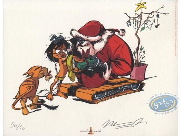 Ex-libris Offset, Navis : Père Noël