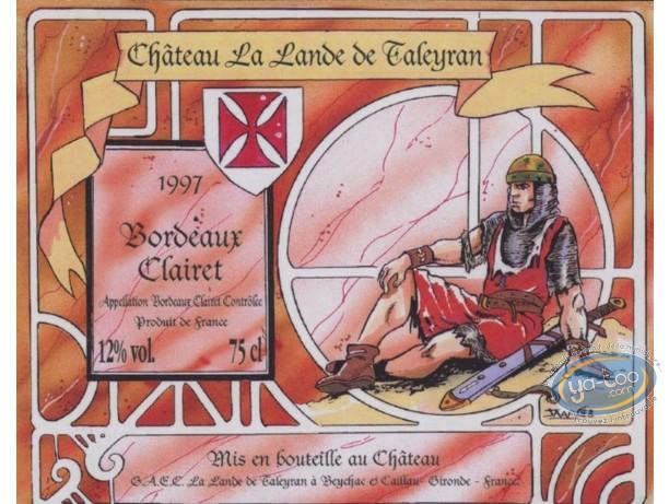 Etiquette de Vin, Chevalier - Chateau La Lande de Tayleran 1997