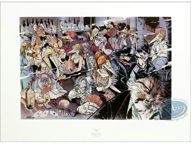 Affiche Offset, Canardo : Le bar