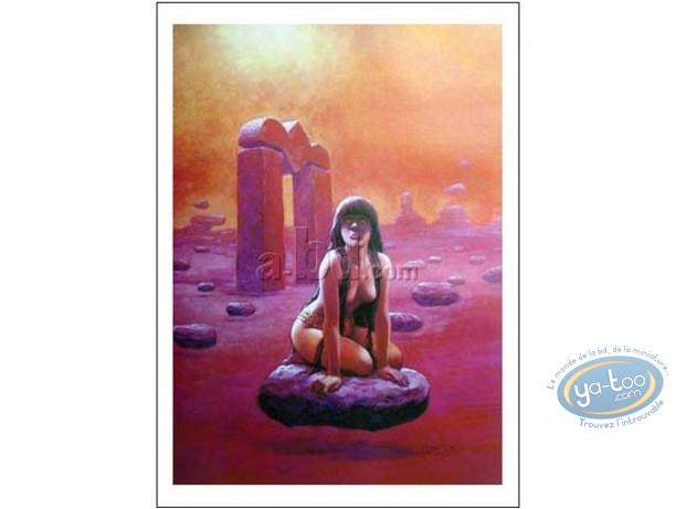 Affiche Offset, Thorgal : La Gardienne des Clés