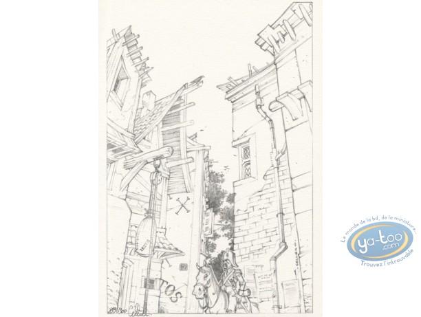 Ex-libris Offset, Maître du Hasard (Le) : La rue