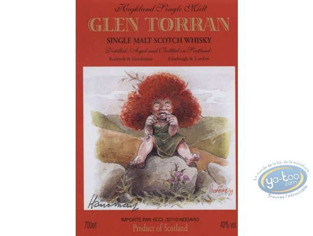 Etiquette de Vin, Laïyna : Glen Torran