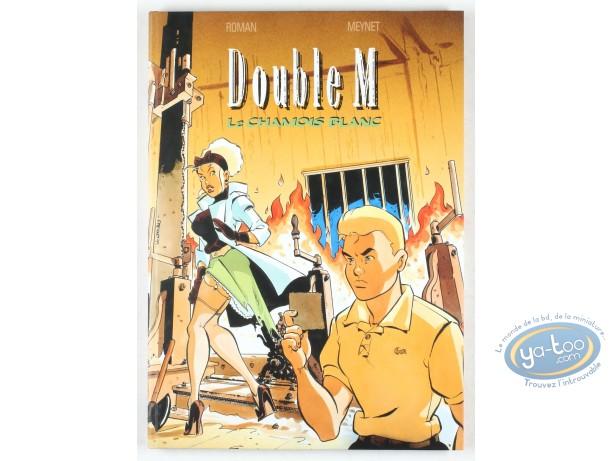 Tirage de tête, Double M : Le Chamois Blanc (+ ex-libris)