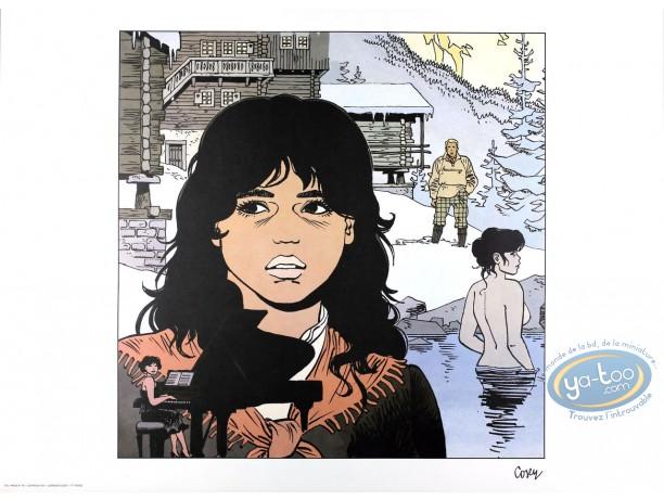 Affiche Offset, Recherche de Peter Pan (A la) : Le bain