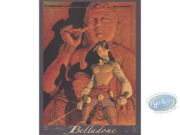 Affiche Offset, Belladone : Marie