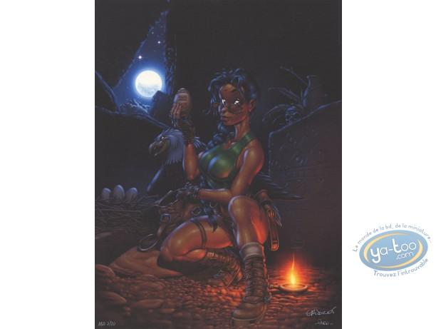 Affiche Offset, Lara croft : Hommage à Lara Croft
