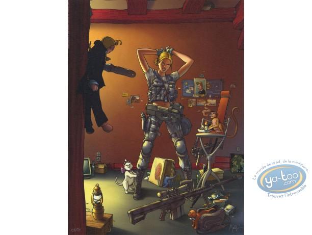 Affiche Offset, Golden City : Préparation au combat