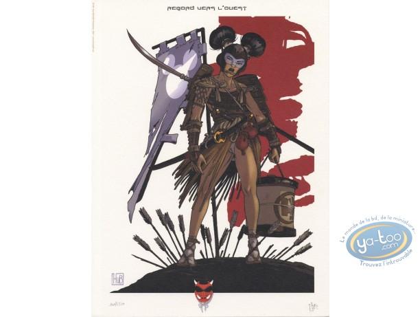 Affiche Offset, Okko : Regard vers l'ouest