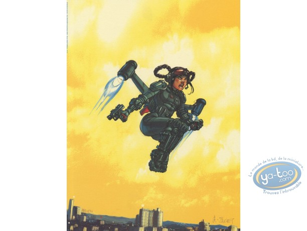 Affiche Offset, Sillage : Combinaison volante