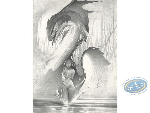 Affiche Offset, Dragon d'eau