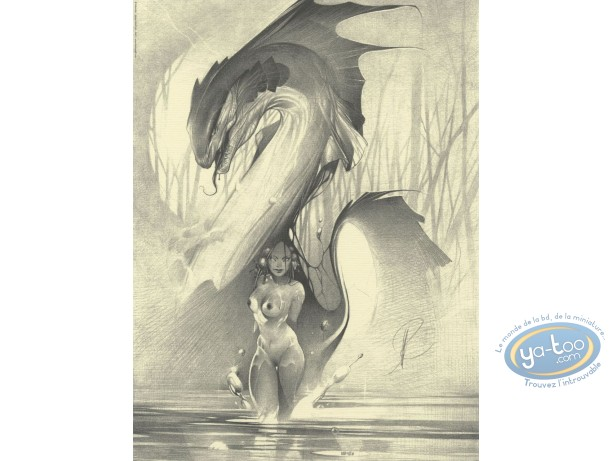 Affiche Offset, Dragon d'eau