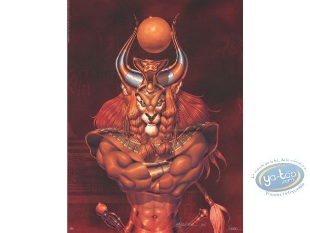 Affiche Offset, Ishanti : Homme lion
