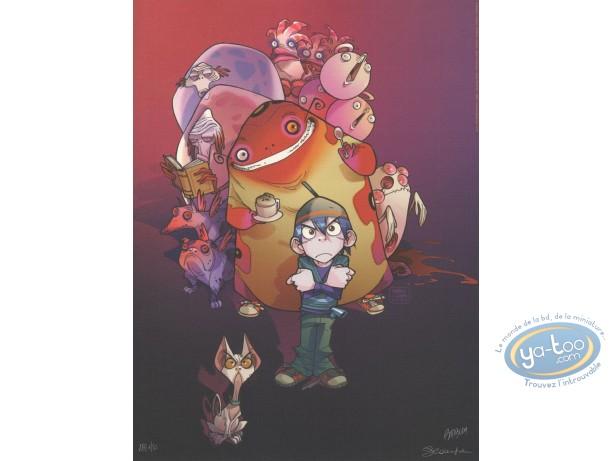 Affiche Offset, Monster Allergy : Galerie de personnages