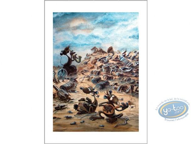 Affiche Offset, Pacush Blues - Les rats : Jazz