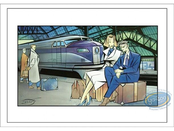 Affiche Offset, Le Train
