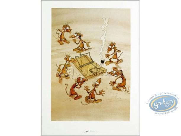 Affiche Offset, Pacush Blues - Les rats : Le Piège
