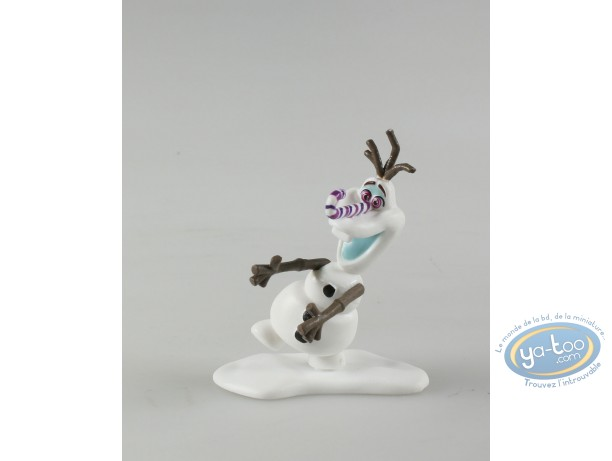 Figurine plastique, Olaf, la Reine des neige, Disney