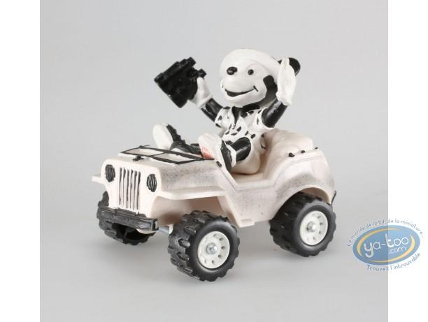 Figurine plastique, Mickey Mouse : Mickey en voiture, Disney