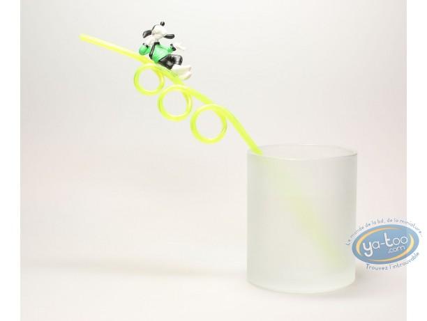 Figurine plastique, Mickey Mouse : Paille, Disney, Goofy, Disney