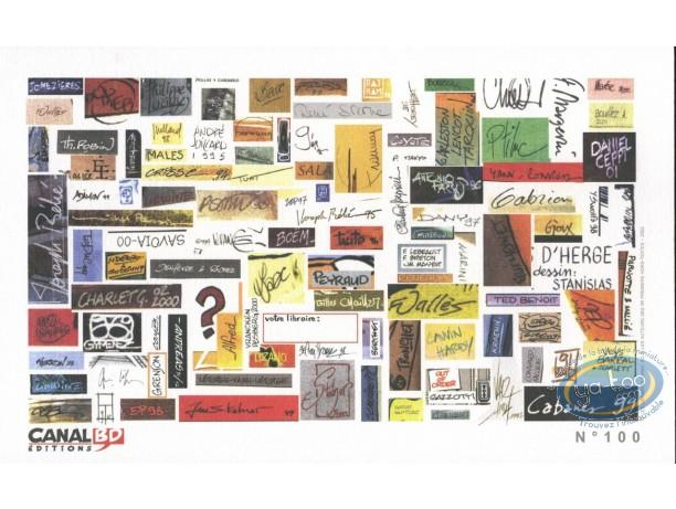 Ex-libris Offset, Signatures