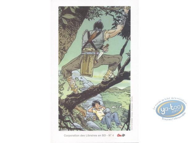 Ex-libris Offset, Petit d'Homme : Embuscade