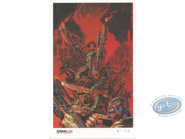 Ex-libris Offset, Yiu : Combat