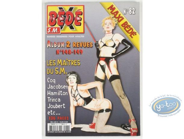 BD adultes, Bédé X N°82, Recueil des numéros 148/149