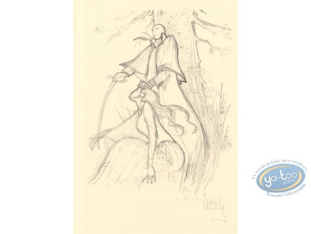Ex-libris Offset, Romantiques (Les) : Crayonné