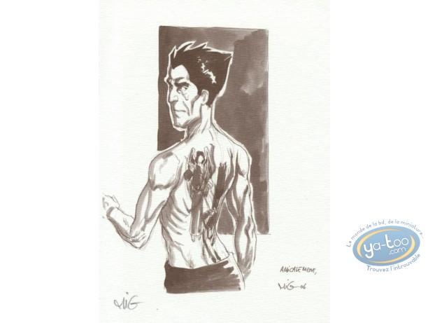 Ex-libris Offset, Messager (Le) : tatouage