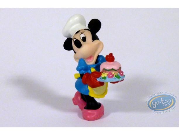 Statuette résine, Mickey Mouse : Cuisinière (Petit format), Disney