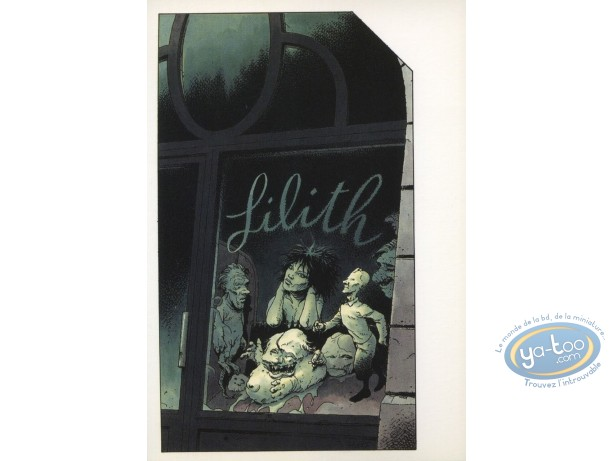 Carte postale, Réflexions morbides