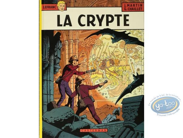 BD cotée, Lefranc : Lefranc, La Crypte