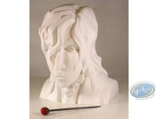 Statuette résine, Sambre : Buste de Bernard Sambre (luxe)