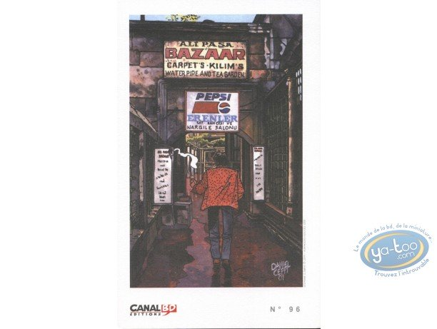 Ex-libris Offset, Stéphane Clément : Bazaar