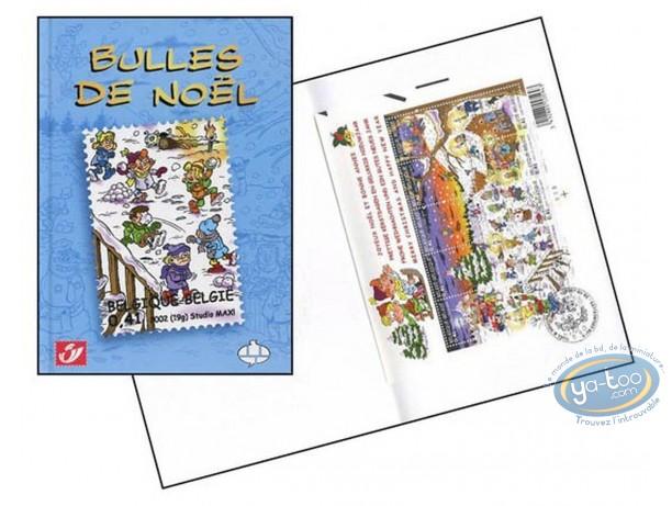 Album + timbres, Bulles de Noël