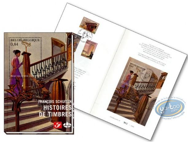 BD prix mini, Cités Obscures (Les) : François Schuiten, Histoires de timbres