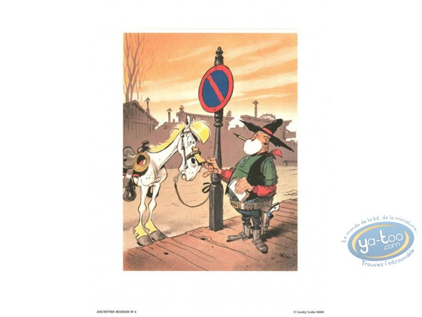 Affiche Offset, Lucky Luke : Archives N°4 : Le juge