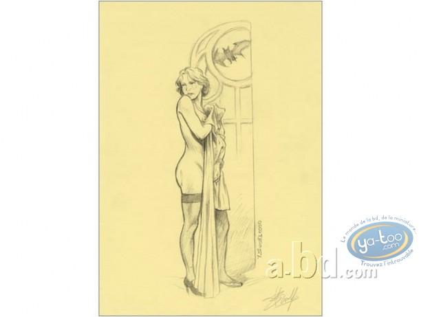 Affiche Offset, Prince de la Nuit (Le) : Elisa (crème)