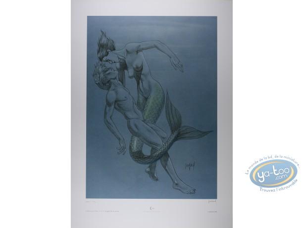 Affiche Offset, Mezek : L'Appel de la Sirène