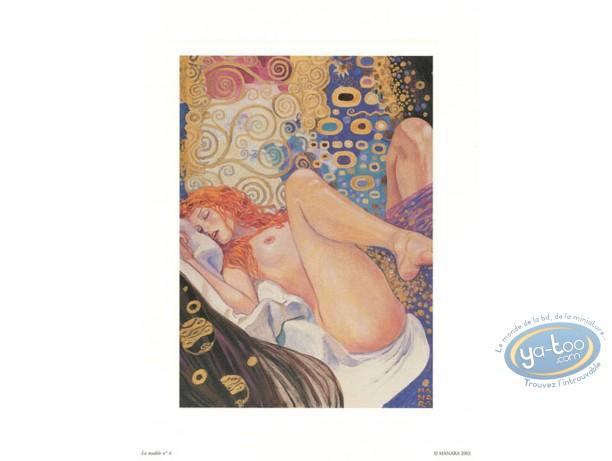Affiche Offset, Manara : La modèle N°4, Manara