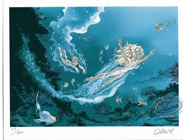 Ex-libris Offset, Olivier Rameau : La plongée