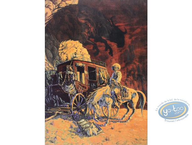 Affiche Offset, Piste des Ombres (La) : La diligence
